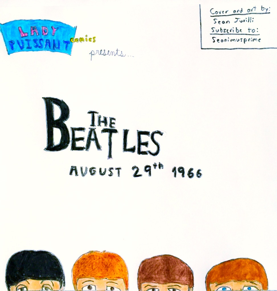 The Beatles Aug. 29th 1966 cover